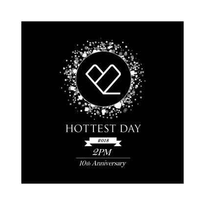 "2PM ""HOTTEST DAY"" logo design"