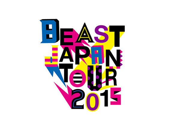 "BEAST ""BEAST JAPAN TOUR 2015"" Logo Design"