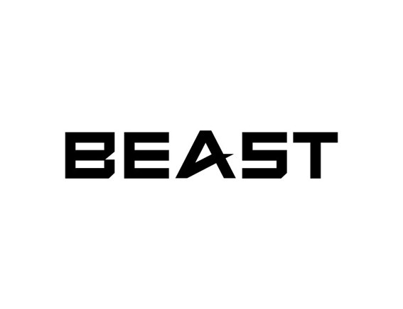 """BEAST"" Logo Design"