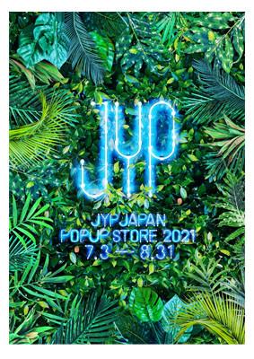 """JYP JAPAN POPUP STORE 2021""   Art Direction & Design"