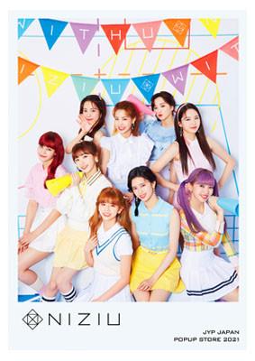 "NiziU ""JYP POPUP STORE 2021"" Design"