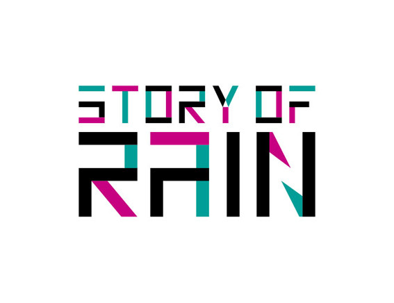 "RAIN ""STORY OF RAIN"" Logo Design"