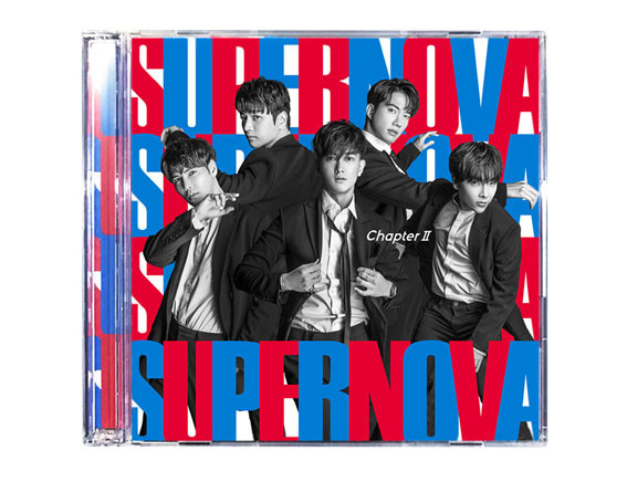 "SUPERNOVA ""Chapter Ⅱ"" CD Design"