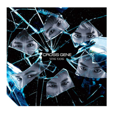 "CROSS GENE ""YINGYANG"" CD Design"
