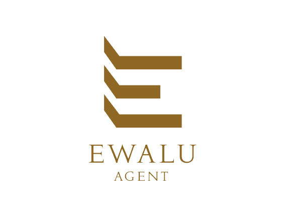 """EWALU AGENT"" logo design"
