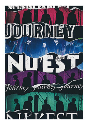 "NU'EST ""JOURNEY"" Pamphlet Design"