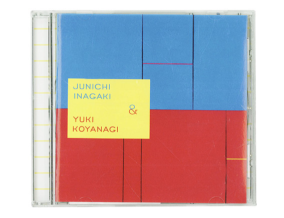 """Inagaki Junichi & Koyanagi Yuki"" CD Design / 稲垣潤一 & 小柳ゆき"