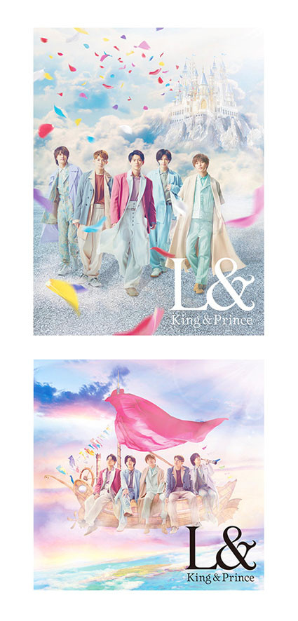 "King&Prince ""L&"" CD Album Design"