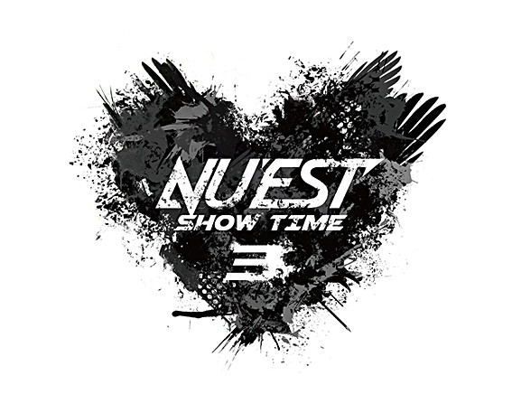 "NU'EST ""NU'EST SHOW TIME3"" Logo Design"