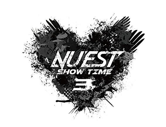 """NU'EST """"NU'EST SHOW TIME3"""" Logo Design"""