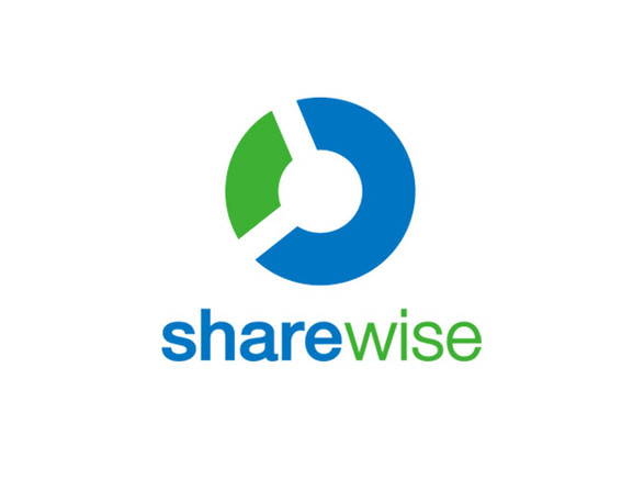 """sharewise"" CI design German company http://sharewise.com/"