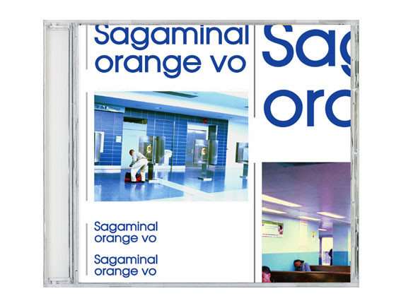 "orange vo ""sagaminal"" CD Design"