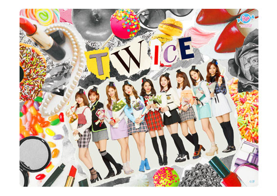 TWICE Mouse pad design