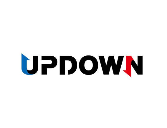 UPDOWN Logo Design