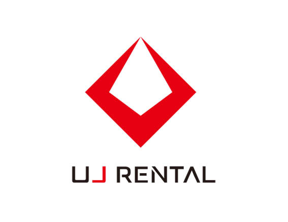 """UJ RENTAL"" logo design"