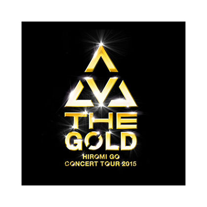 "HIROMI GO ""THE GOLD"" Logo Design / 郷ひろみ ""THE GOLD"""